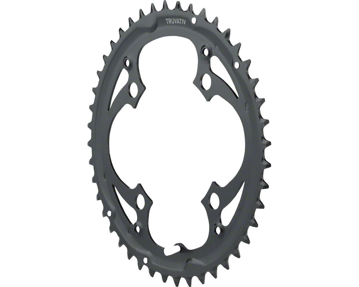 Trushift Steel Chainring (Black) (104mm BCD)