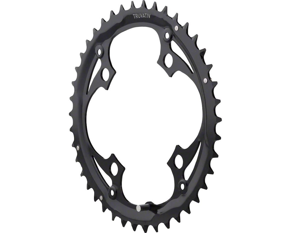 Truvativ Trushift Steel Chainring (Black) (104mm BCD) (42T)