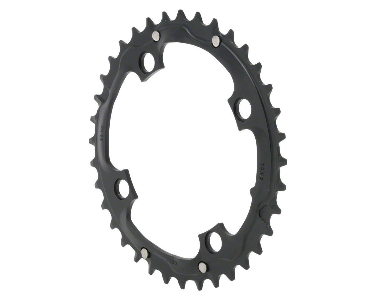 Truvativ Trushift Aluminum 2x Chainring (Black) (104mm BCD) (36T)
