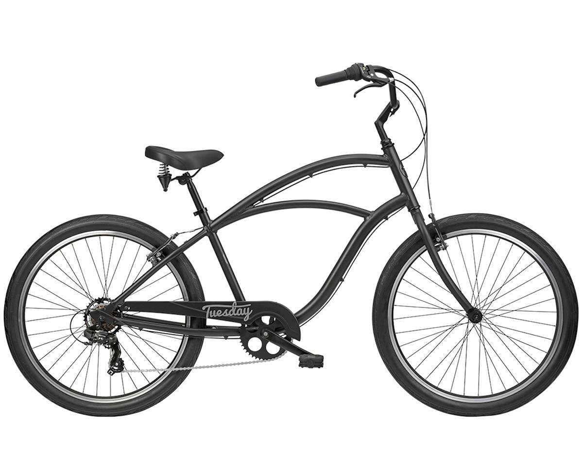Tuesday August 7 Men's Cruiser Bike (Satin Black) | relatedproducts