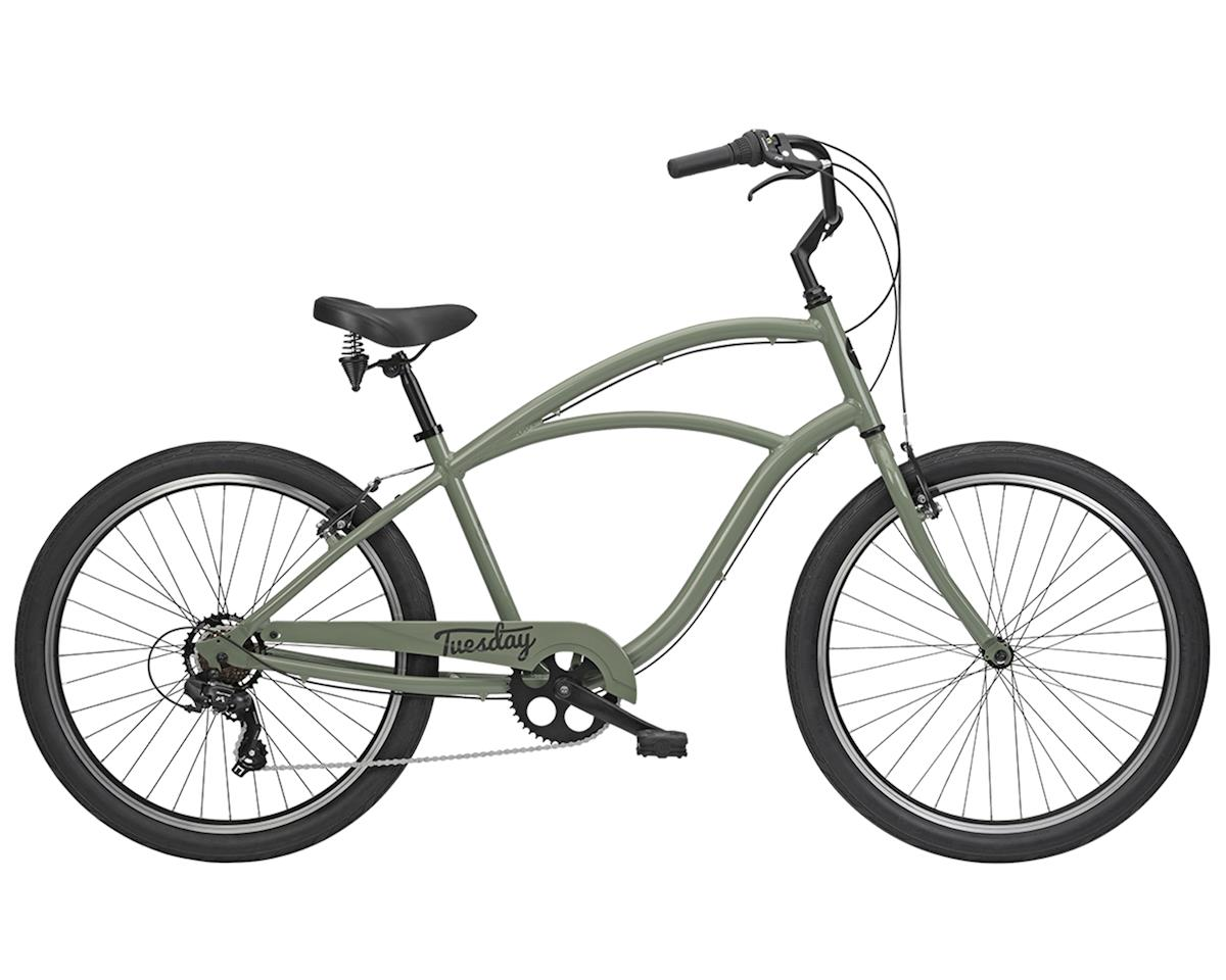 Tuesday August 7 Men's Cruiser Bike (Olive Drab)
