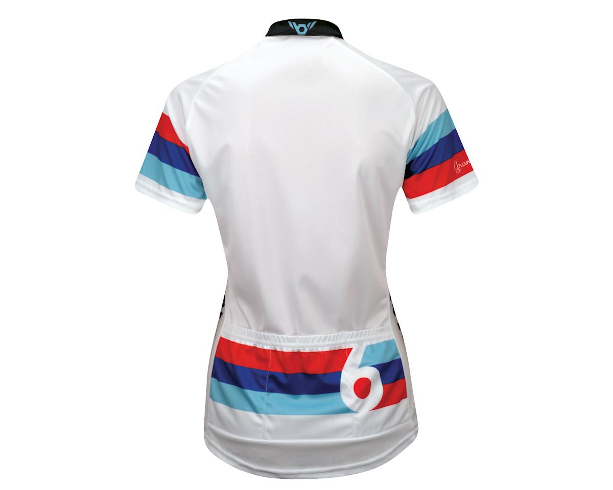 Twin Six Women's Grand Prix Short Sleeve Jersey (White)