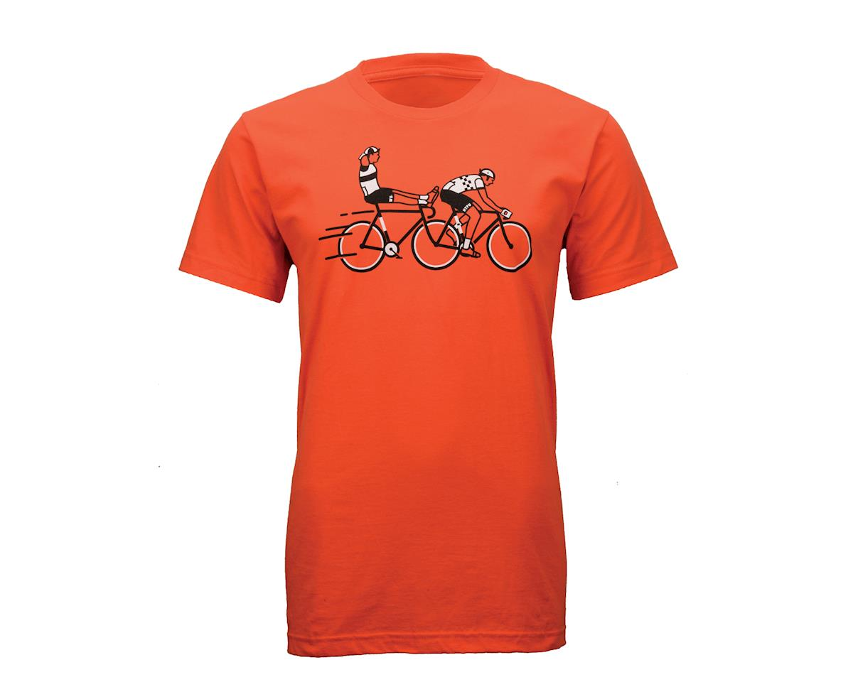 Twin Six Wheel Sucker T-Shirt (Orange)