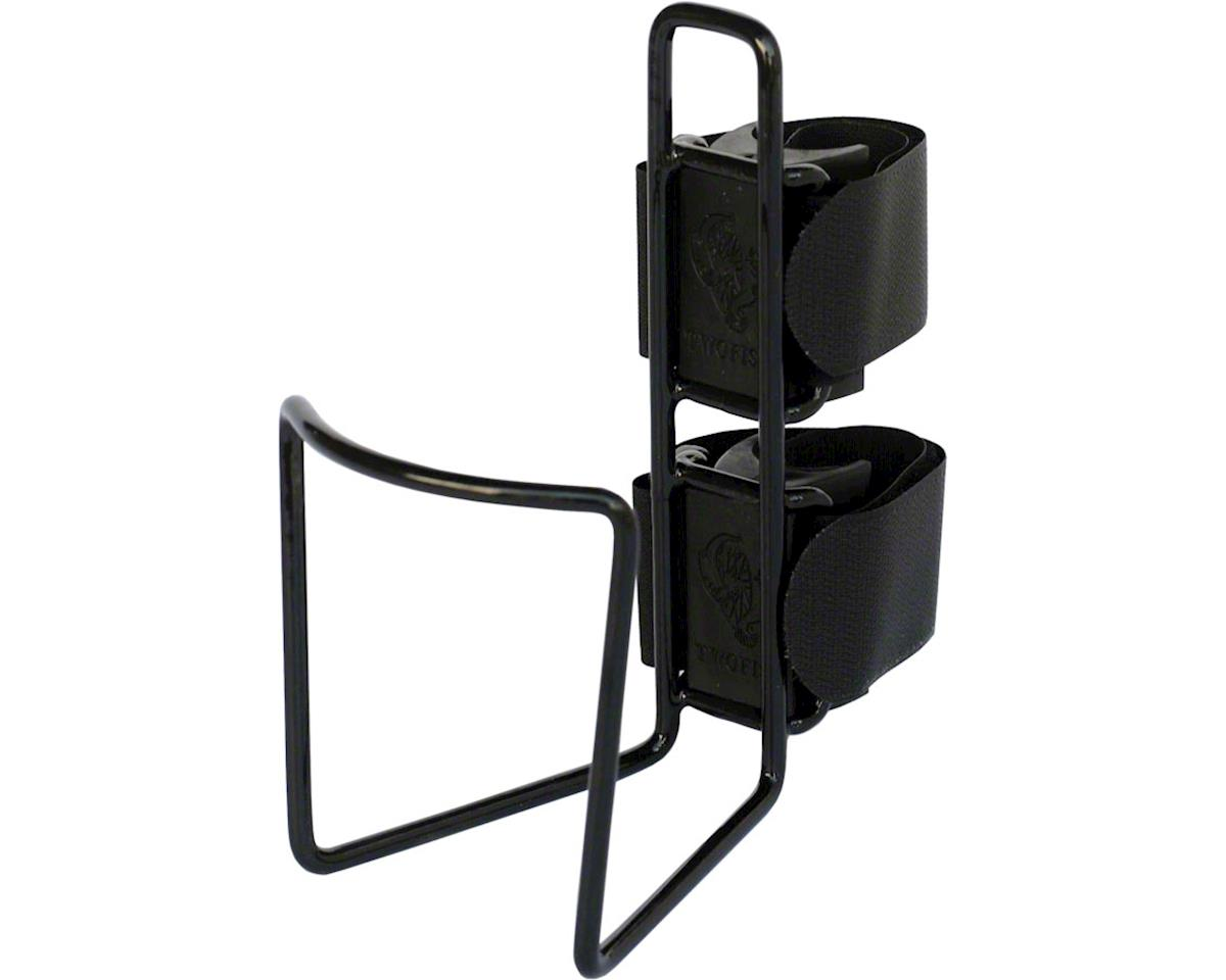 Two Fish QuickCage 40oz Bottle Cage (Vinyl Coated Black)