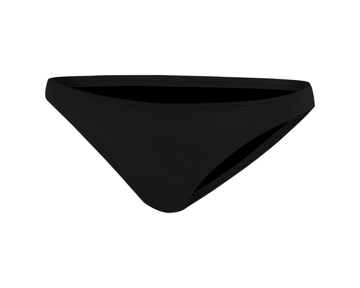 TYR Women's Bikini Bottom Only: Black, XL (Size 38)