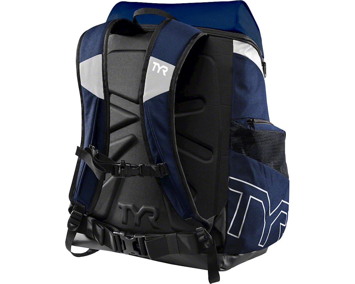 TYR Alliance 45L Backpack: Navy/White
