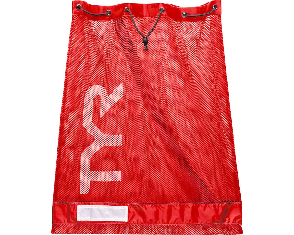 TYR Mesh Equipment Bag: Red