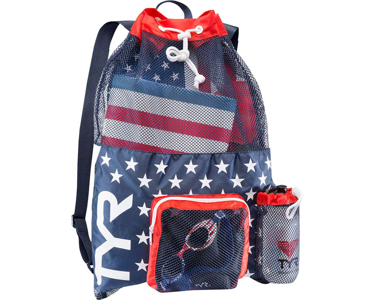 TYR Big Mesh Mummy Backpack: USA