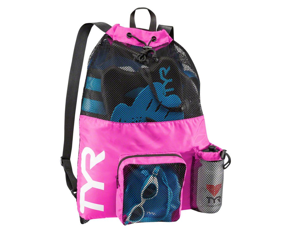 Tyr Big Mesh Mummy Backpack (Pink)