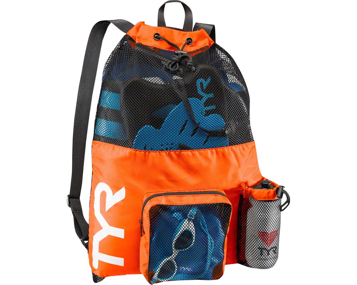 TYR Big Mesh Mummy Backpack: Orange