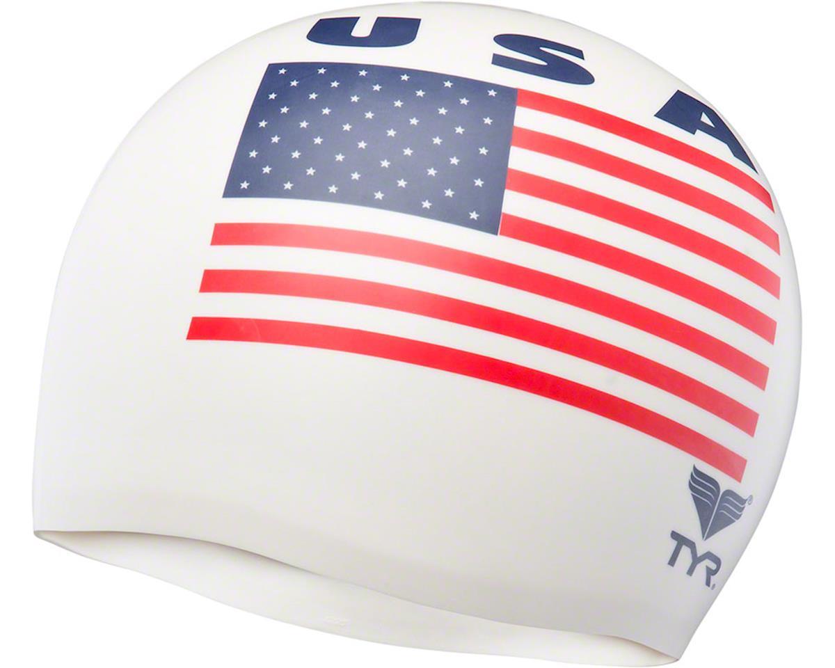 Wrinkle-free Silicon Swim Cap: USA