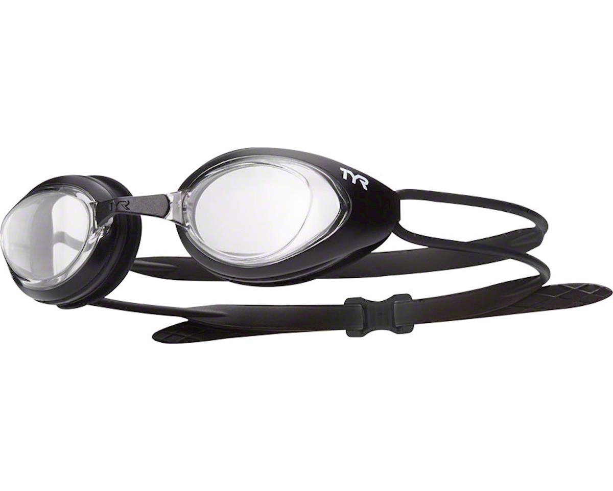 Blackhawk Goggle: Black Frame/Clear Lens