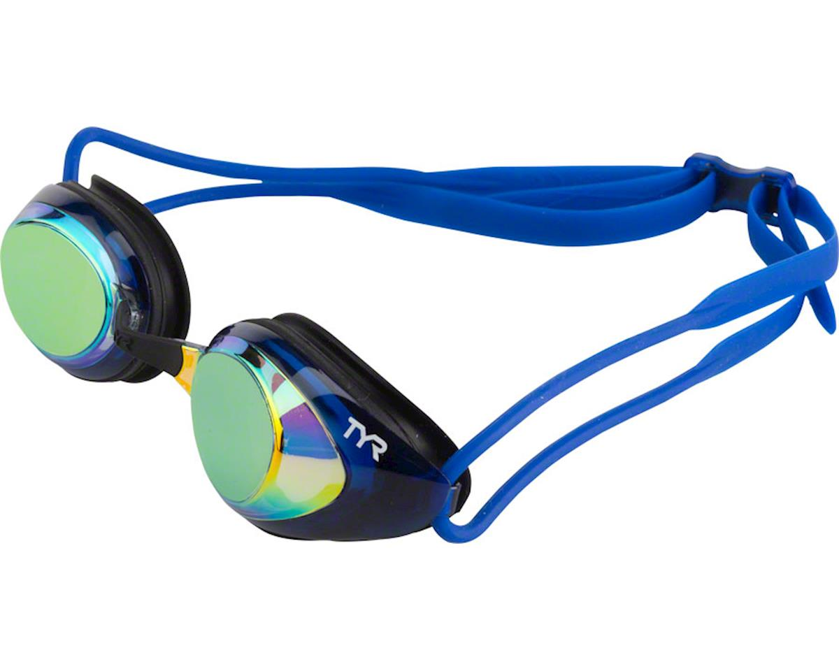Tyr Blackhawk Polarized Goggle: Gold/Black/Navy