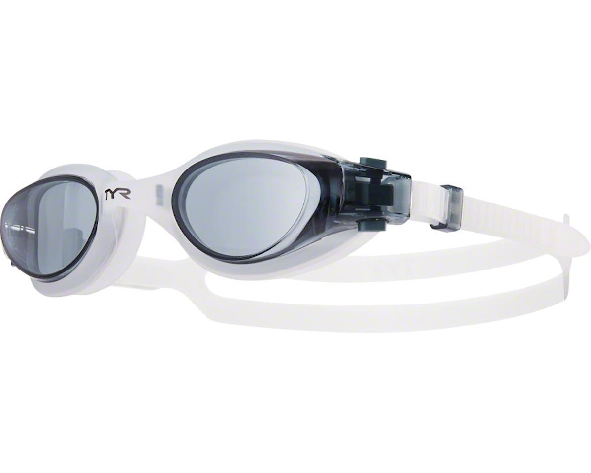 Tyr Vesi Goggle: Smoke Lens/Clear Frame/Clear Gasket