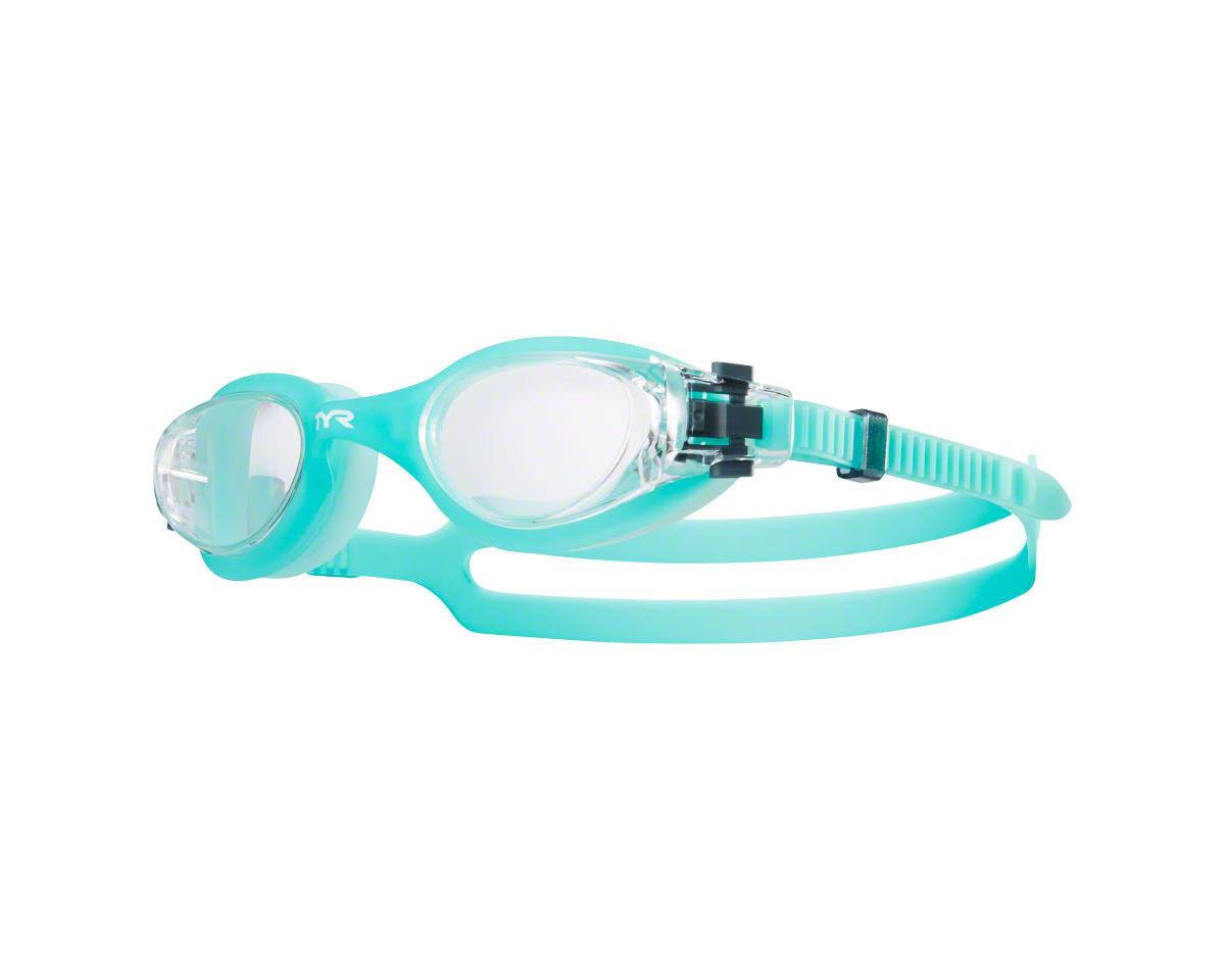 Tyr Vesi Femme Goggle: Clear Lens/Mint Frame/Mint Gasket