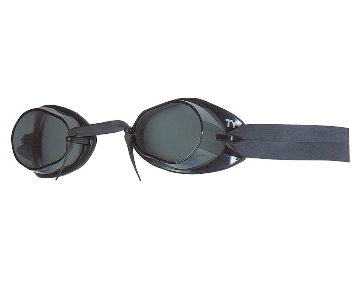 Tyr Socket Rocket 2.0 Goggle: Black Frame/Smoke Lens