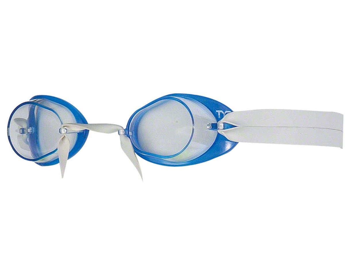 Tyr Socket Rocket 2.0 Goggle: Blue Frame/Clear Lens