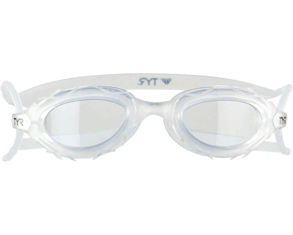 TYR Nest Pro Goggle: Clear Frame/Clear Lens