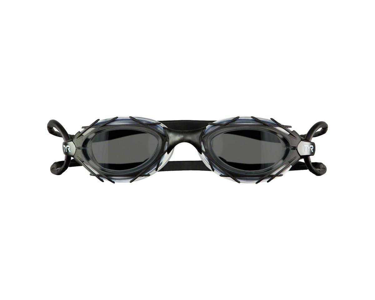Tyr Nest Pro Nano Goggle: Black Frame/Smoke Lens
