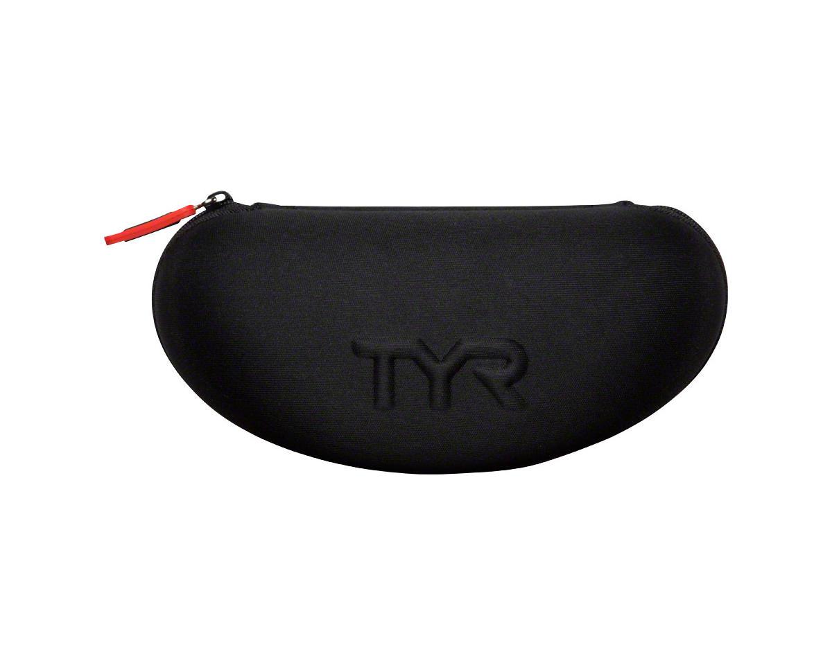 Tyr Protective Swim Goggle Case: Black