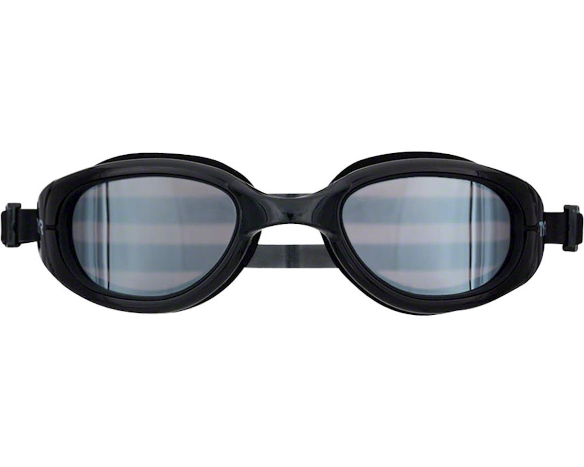 TYR Special Ops 2.0 Polarized Goggle: Black Frame/Metallized Silver Lens