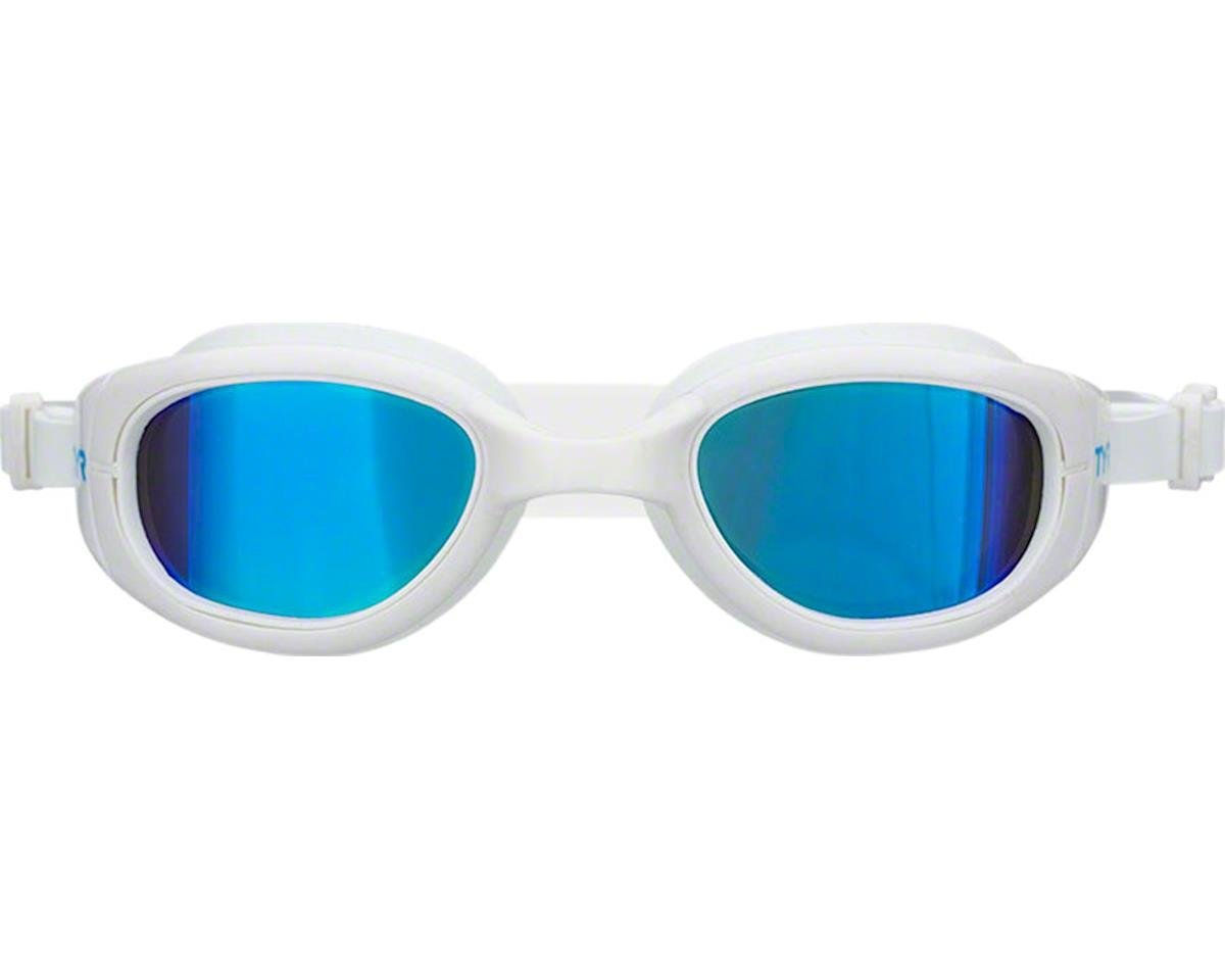 Tyr Special Ops 2.0 Polarized Goggle: White Frame/Metallized Blue Lens