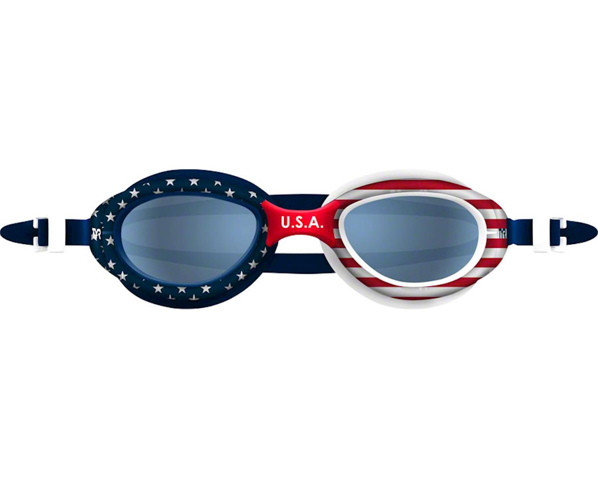 Tyr Special Ops 2.0 Polarized Goggle: USA Frame/Smoke Lens