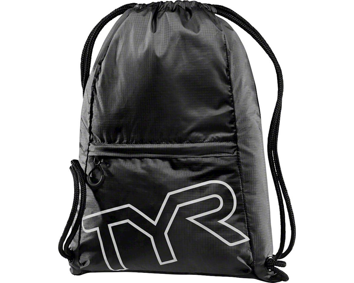 TYR Drawstring Sack Pack: Black