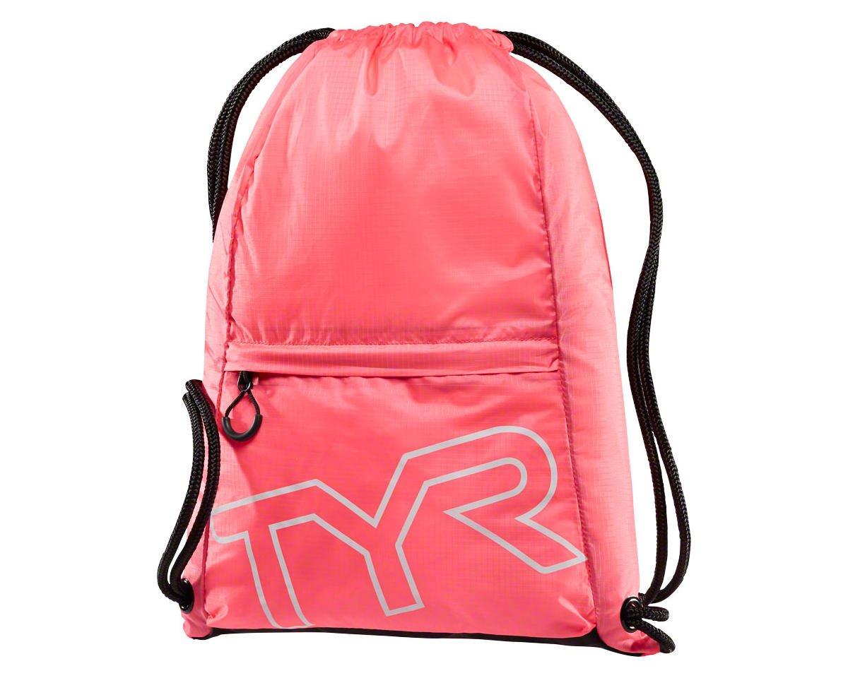 TYR Drawstring Sack Pack: Pink