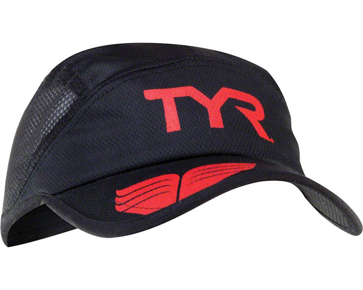 Tyr Competitor Running Hat (Black/Red) (One Size)