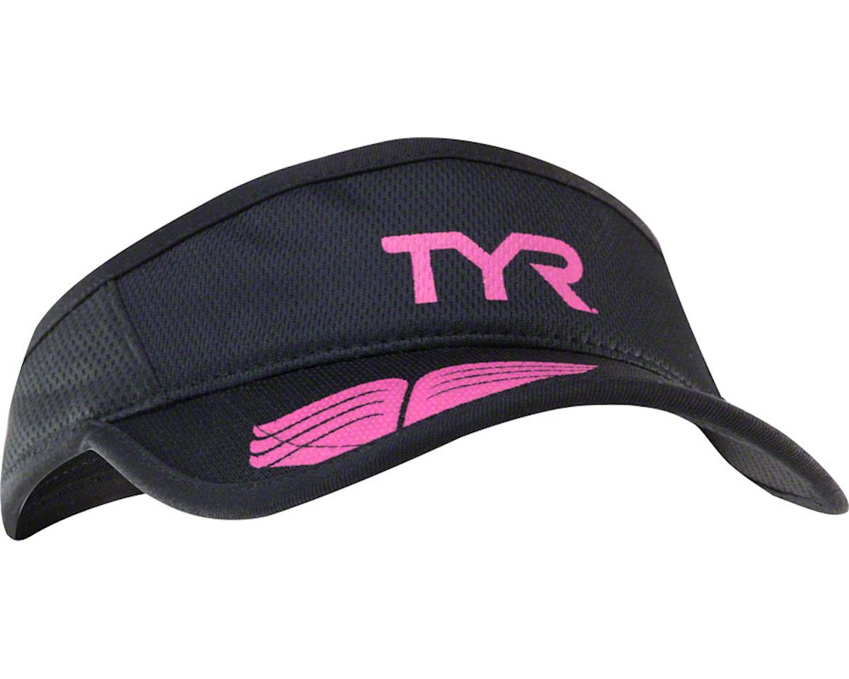 Tyr Competitor Running Visor (Black/Pink) (One Size)