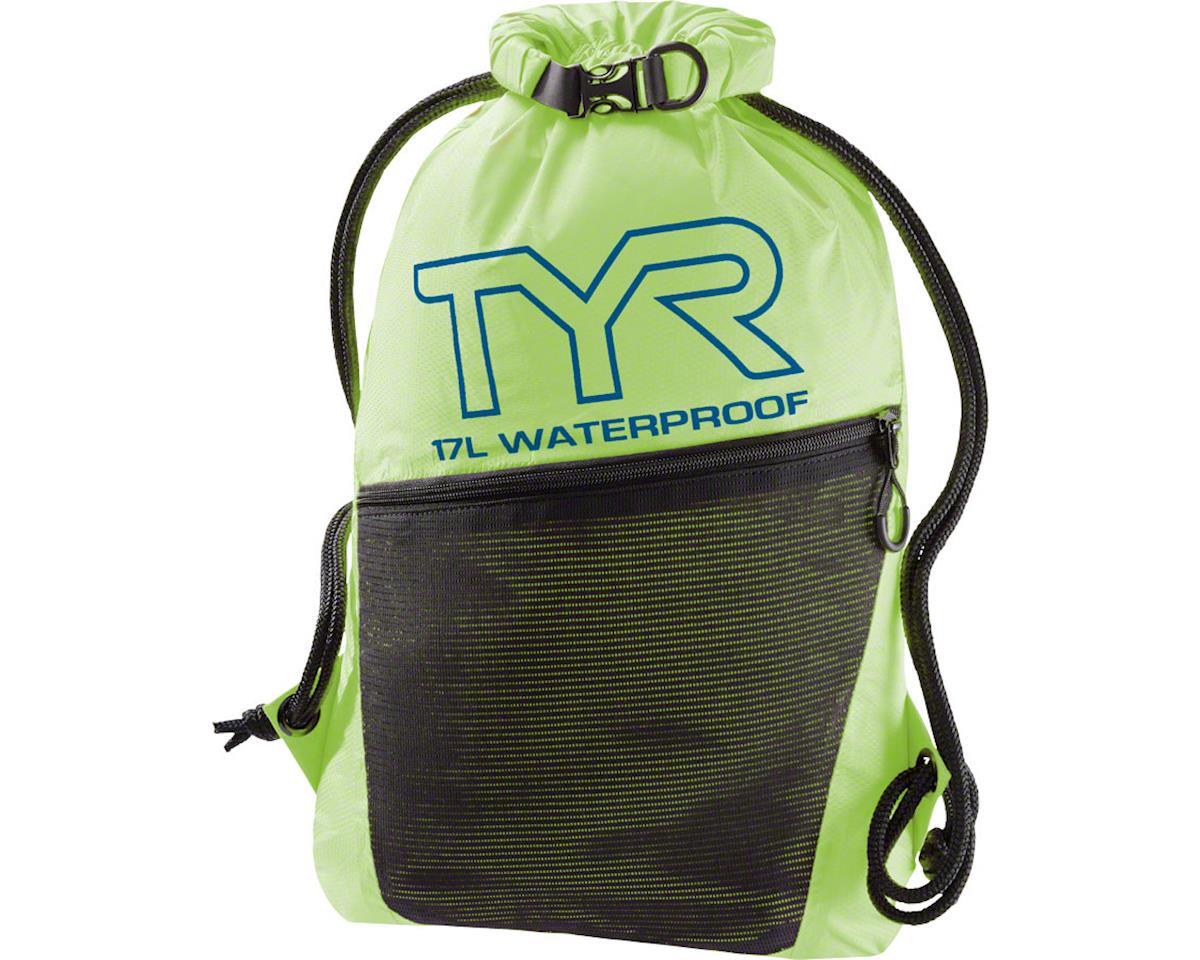 TYR Alliance Waterproof Sackpack: Fluorescent Yellow