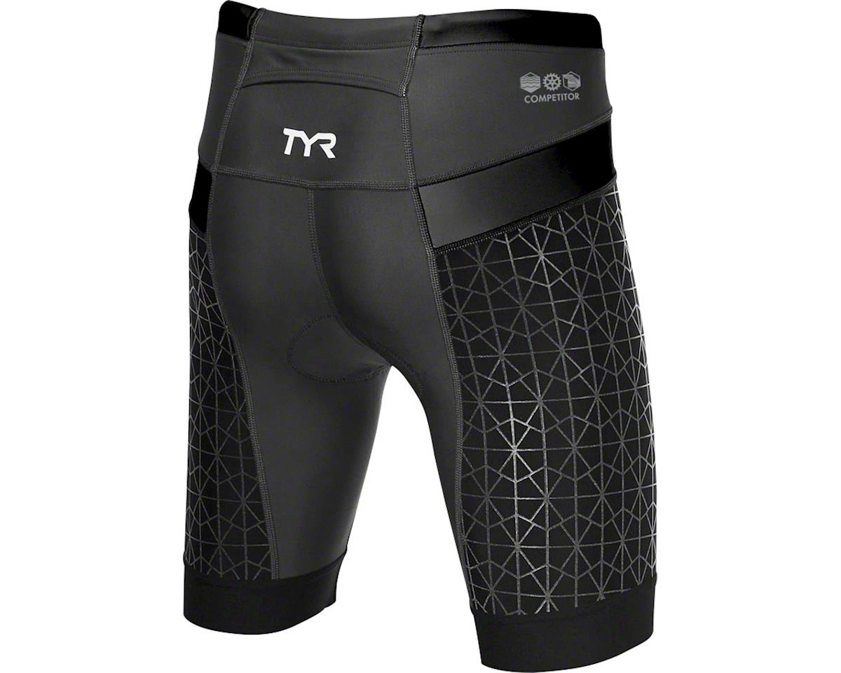 "Tyr Competitor 6"" Women's Short: Black SM"