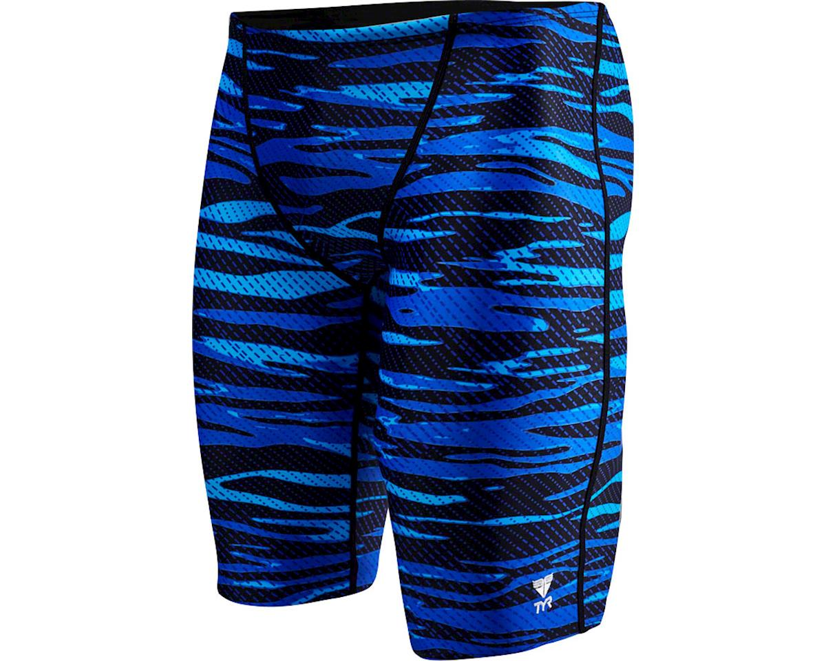 Crypsis Jammer Men's Swimsuit: Blue 34