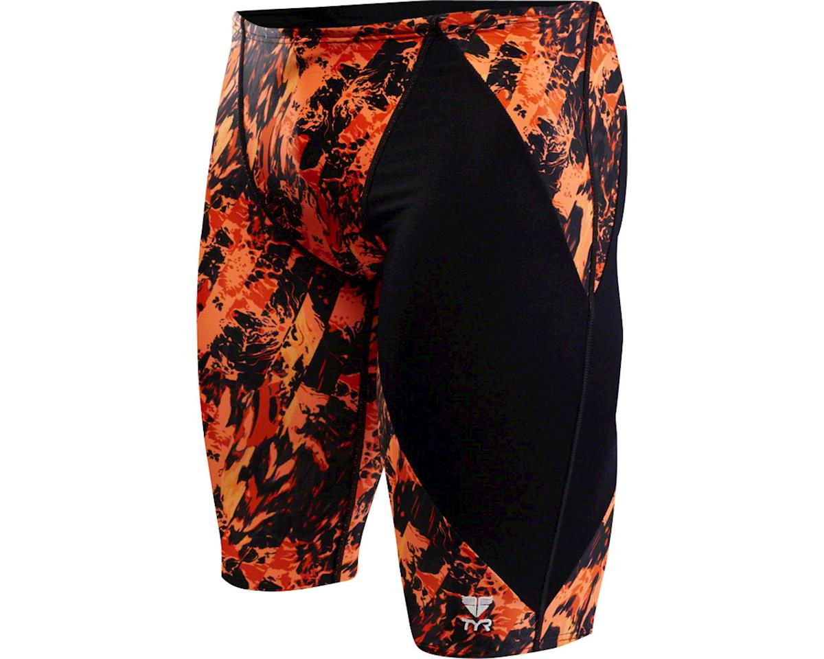 Glisade Jammer Men's Swimsuit: Black/Orange 38