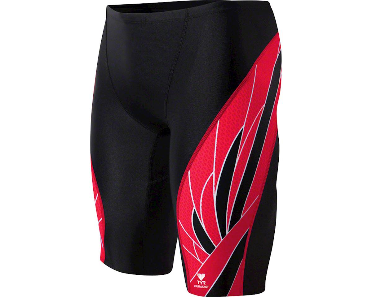 5b1d0ed5e5 TYR Phoenix Splice Jammer Men's Swimsuit: Black/White 38 (S) [SPX7A ...