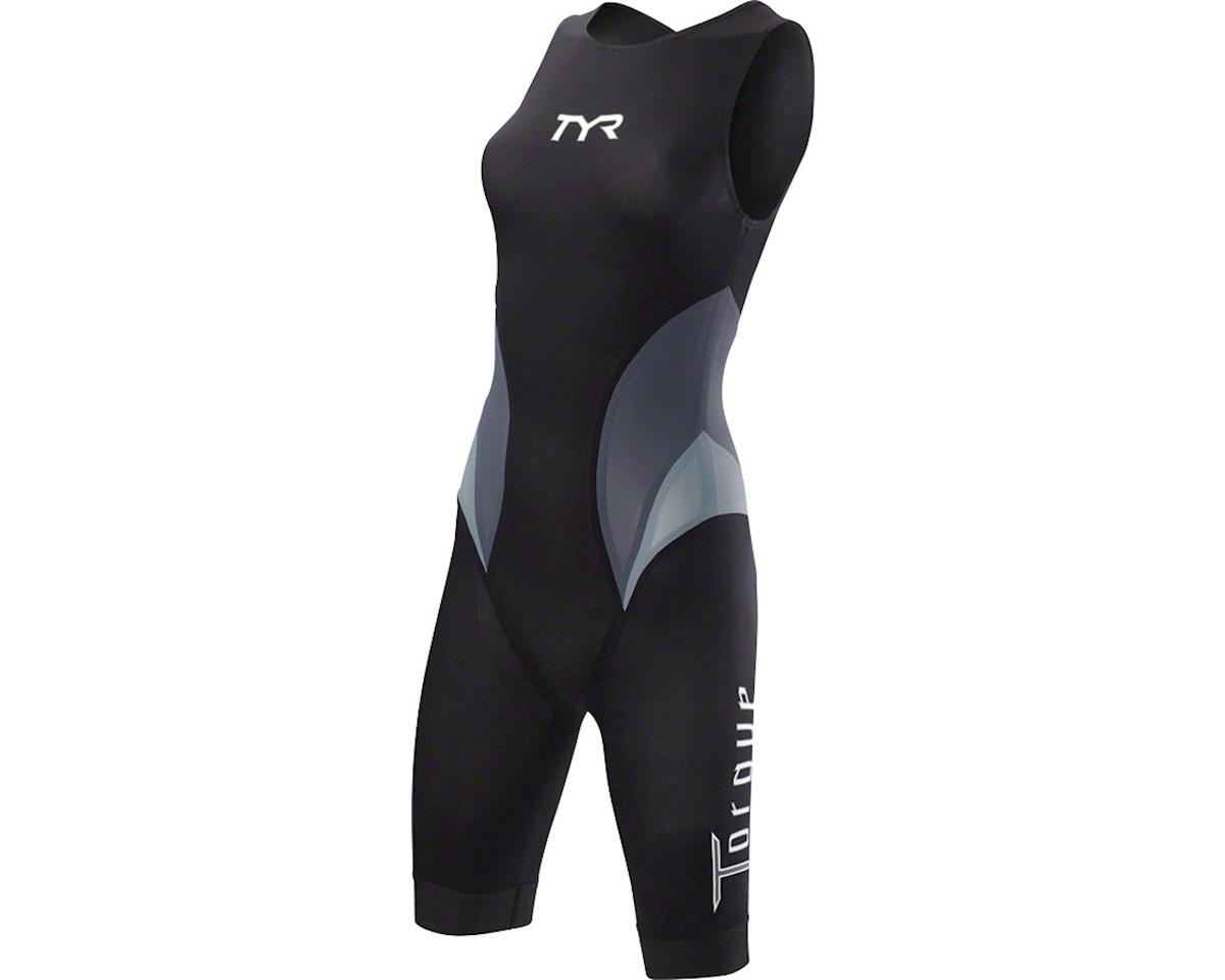 Torque Elite Women's Swimskin: Black SM
