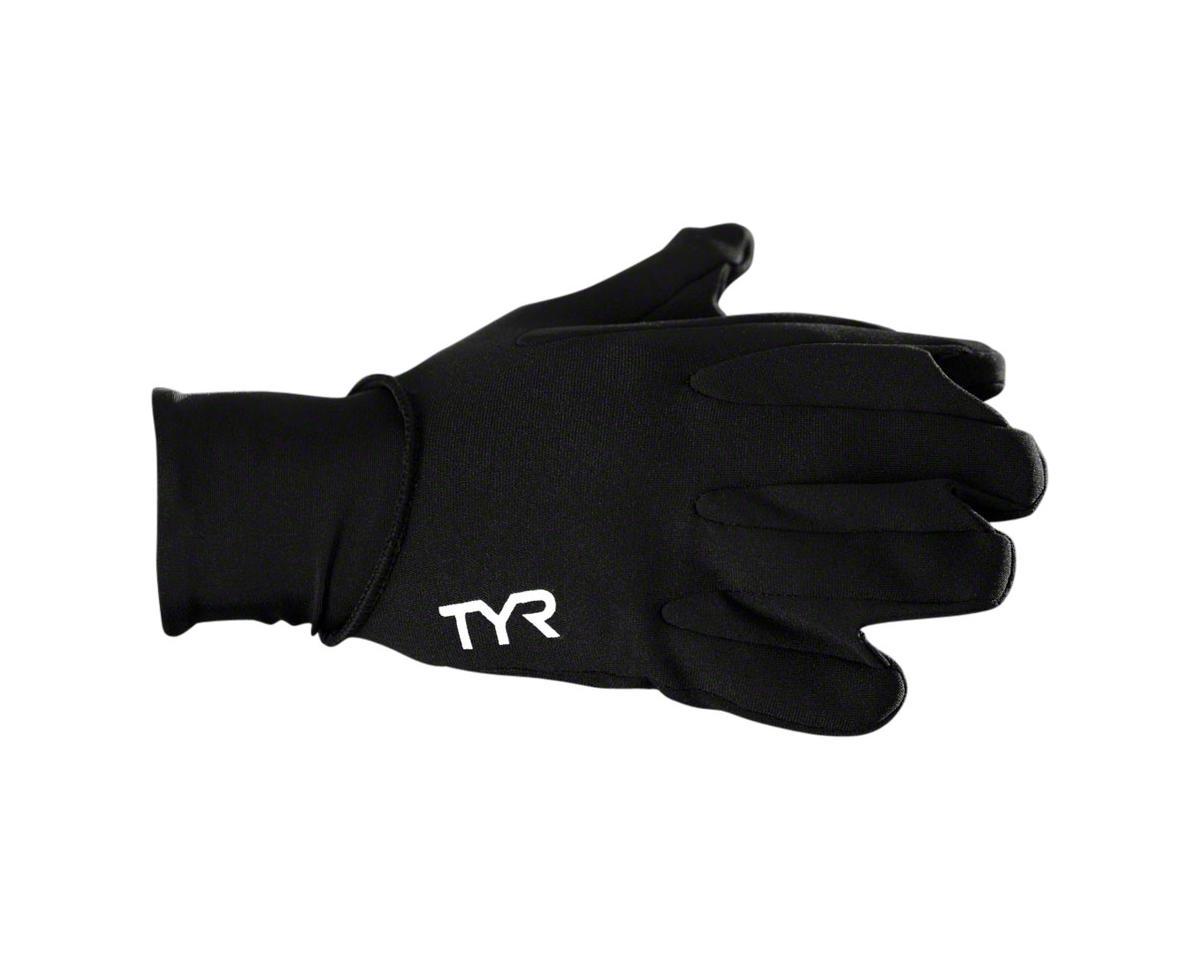 Neoprene Swim Glove: Black, LG