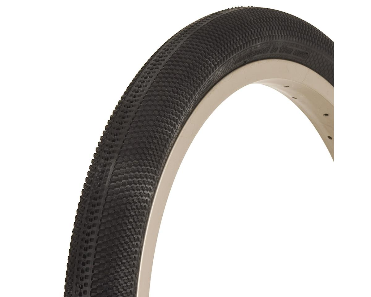 "Vee Rubber Vee Tire Co. MK3 BMX Tire: 24"" x 1-3/8"" Folding Bead Black"