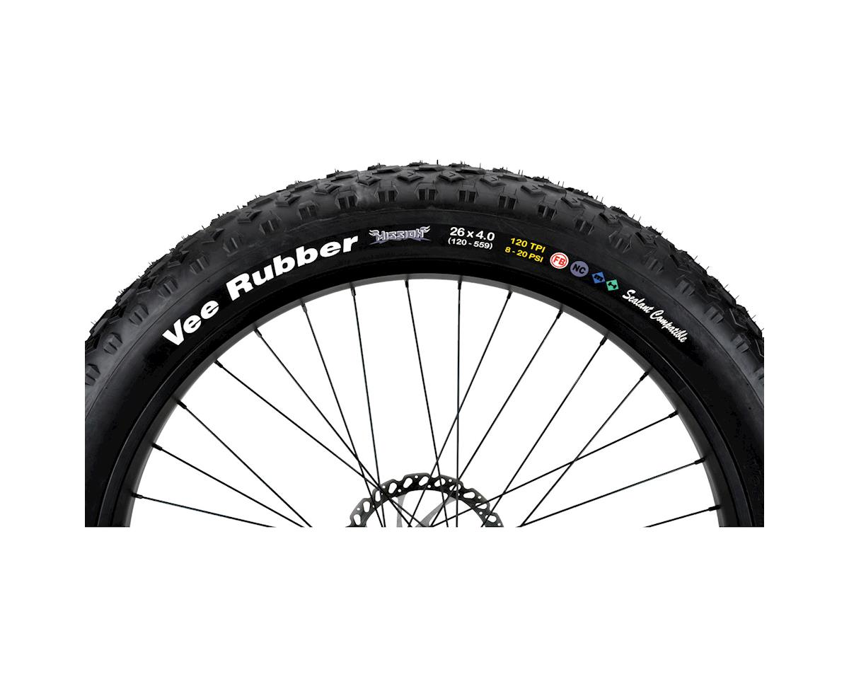 Vee Rubber Vee Mission Rubber Mountain Bike Tire 26 x 4.0 (26 X 4.0)
