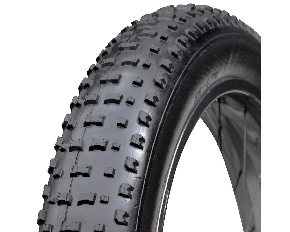 "Vee Rubber Snowshoe Tire~ 26X4.70"" 120Tpi Folding Black"