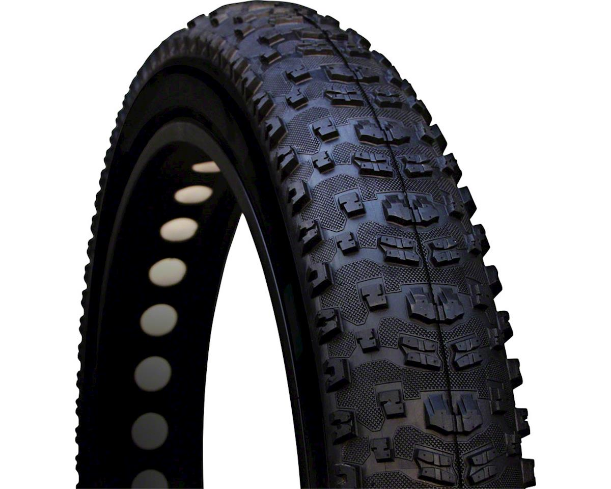 "Vee Rubber Vee Tire Co. Bulldozer Fat Bike Tire: 26"" x 4.7"" 120tpi Folding Bead Silica Comp"