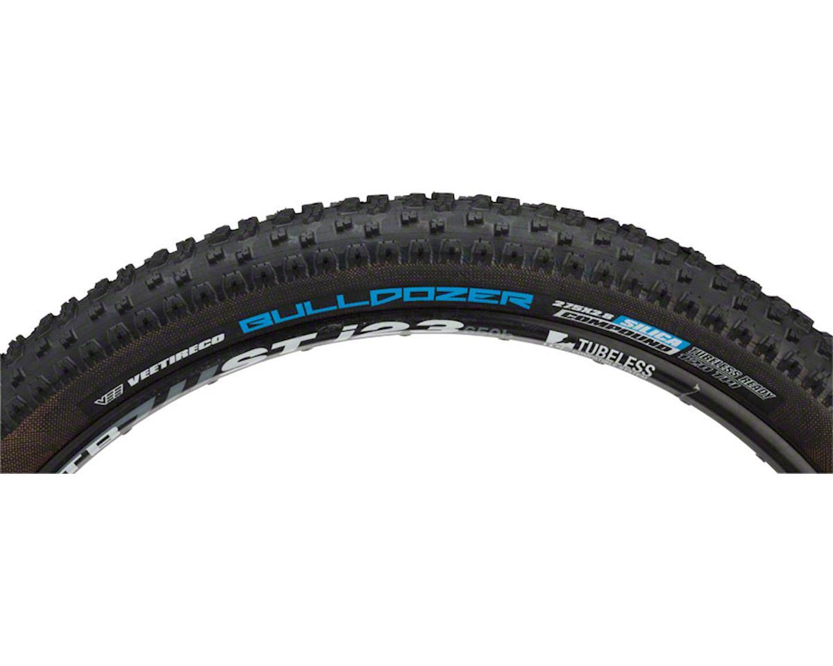 """Vee Tire Co. Bulldozer Tire: 27.5+ x 2.8"""" 120tpi Tubeless Ready, Silica Compound"""