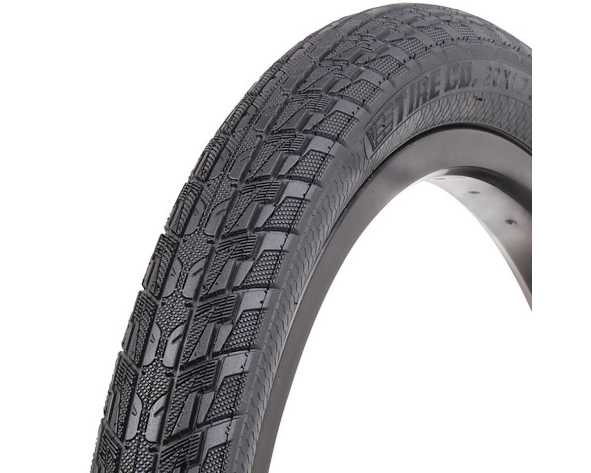 "Vee Rubber Vee Tire Co. SpeedBooster BMX Tire: 20"" x 1.75"" Folding Bead Black"