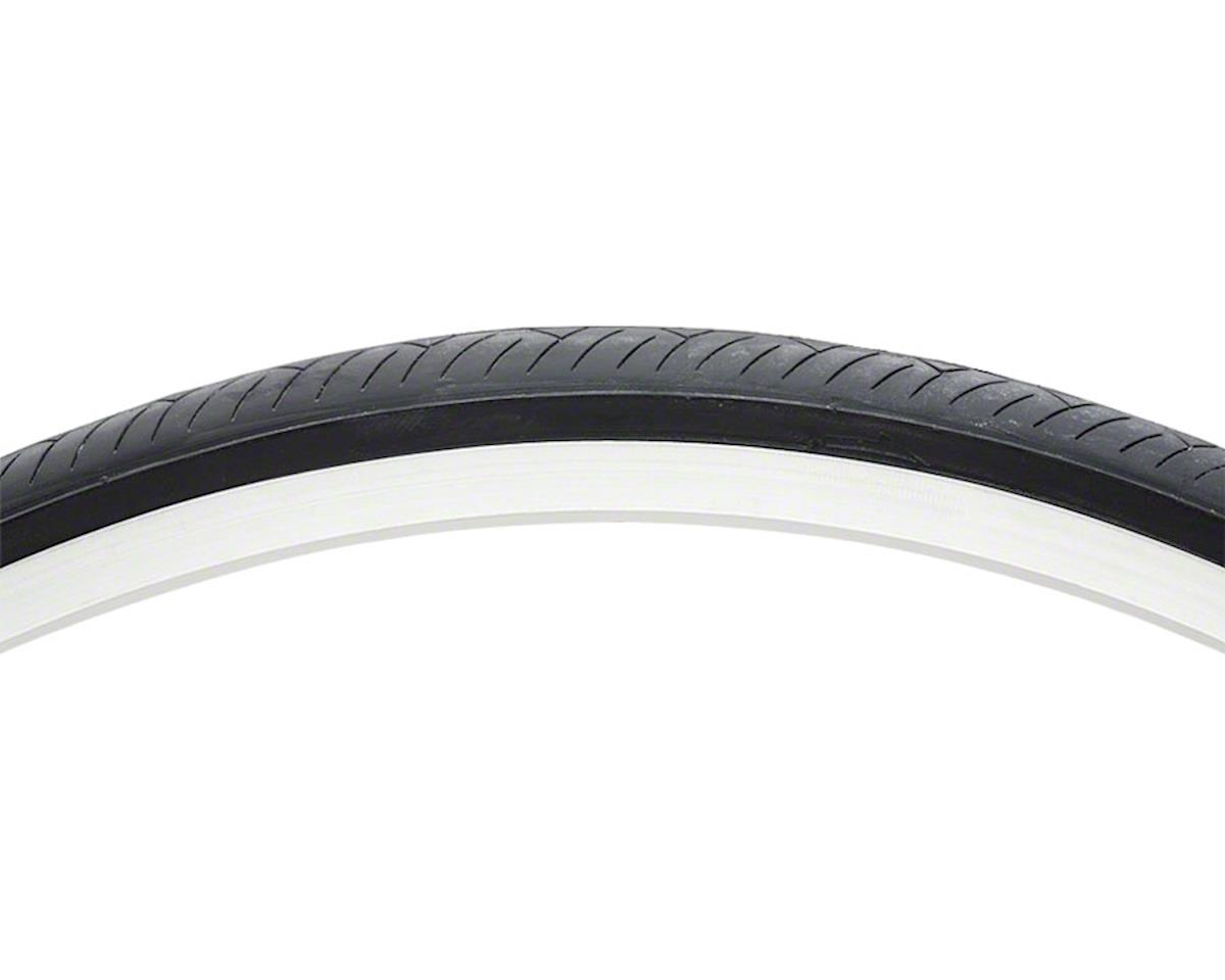 Vee Rubber Smooth Tire - 700 x 25, Clincher, Steel, Black, 27tpi