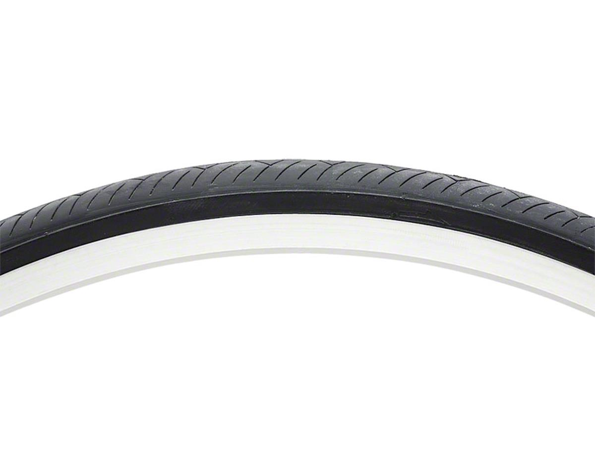 "Vee Rubber Smooth Road Tire: 27"" x 1-1/4"" Steel Bead Black"