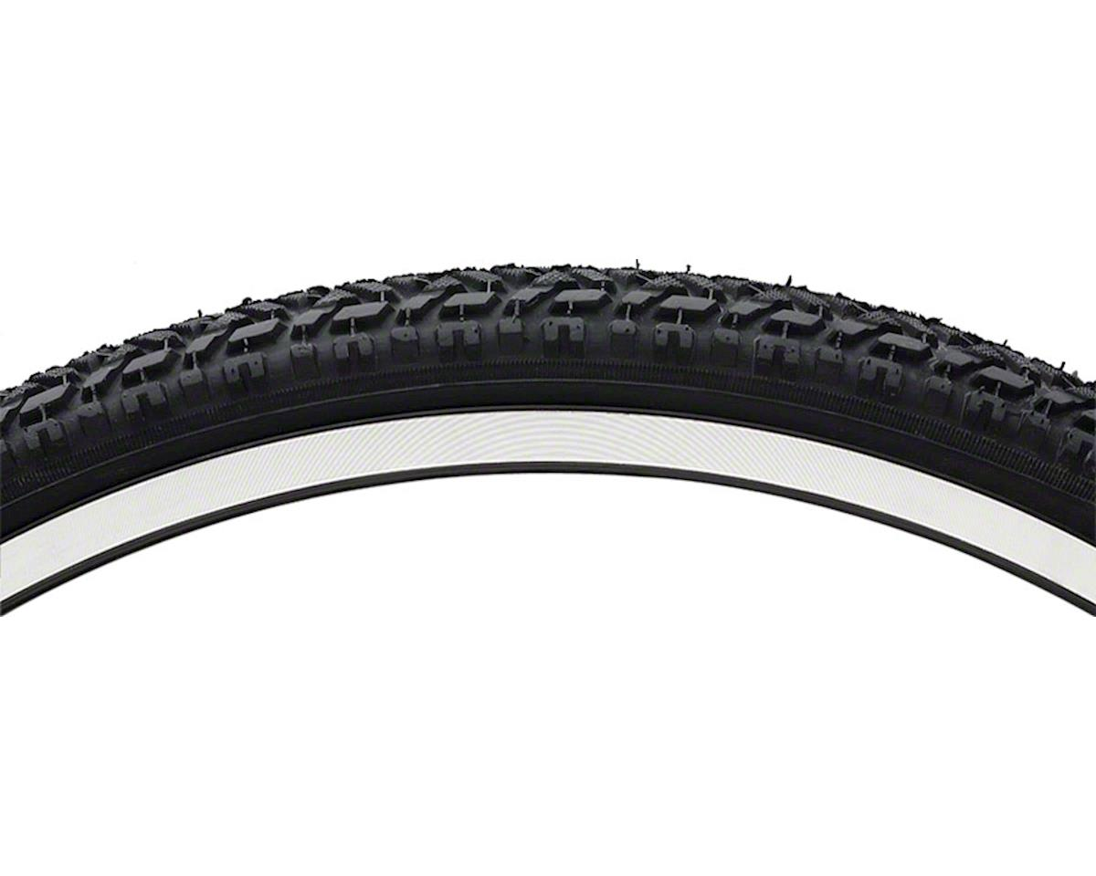 "Vee Rubber Semi Knobby Mountain Tire: 26"" x 1.75"" Steel Bead Black"