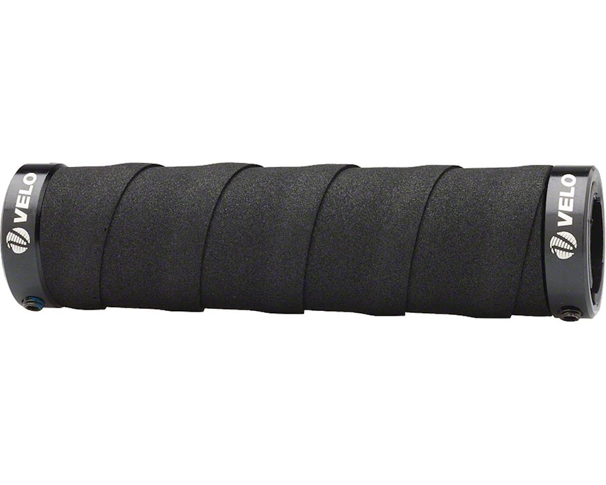 Velo Attune Grips - Black, Lock-On