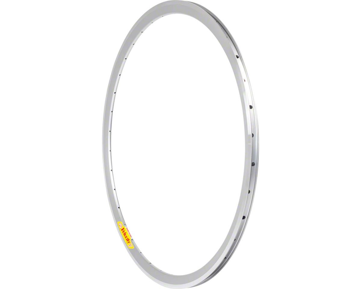 Velocity Deep V Rim, 700c 32h, with MSW Silver