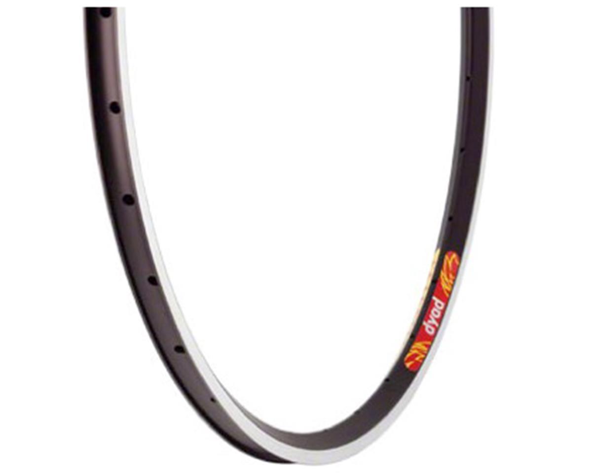 Velocity Dyad Rim - 700, Rim, Black, 32H, Clincher